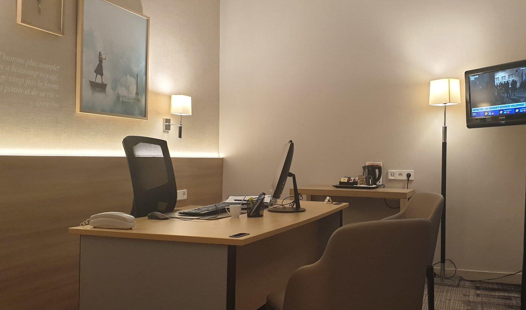 bureau 1 - hôtel magda champs-élysées
