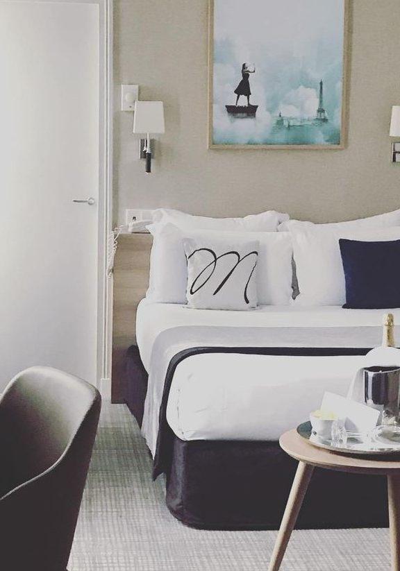 suite champagne - hôtel magda champs-élysées